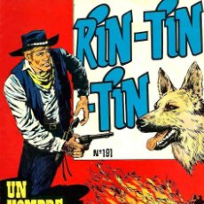 Comics - RIN-TIN-TIN Nº 191 - UN HOMBRE EXTRAORDINARIO - MARCO 1965 - ORIGINAL - VER DESCRIPCION - 106638331