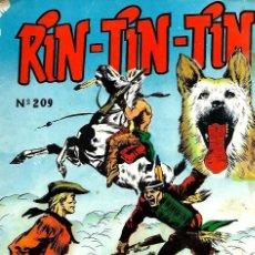 Tebeos: RIN-TIN-TIN Nº 209 - EL EJEMPLO DE KIRK - MARCO 1965 - ORIGINAL - VER DESCRIPCION. Lote 106638723