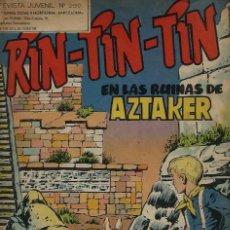 Tebeos: RIN-TIN-TIN Nº 259 - EN LAS RUINAS DE AZTAKER - OLIVE Y HONTORIA 1966 - ORIGINAL - VER DESCRIPCION. Lote 106639255