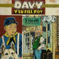 Tebeos: RIN-TIN-TIN / DAVY Y SU FIEL ROY Nº 277 - OLIVE Y HONTORIA 1966 - ORIGINAL - VER DESCRIPCION. Lote 106639603