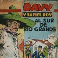 Tebeos: RIN-TIN-TIN / DAVY Y SU FIEL ROY Nº 284 - OLIVE Y HONTORIA 1966 - ORIGINAL - VER DESCRIPCION. Lote 106639827
