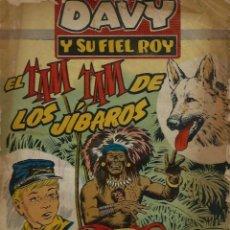 Tebeos: RIN-TIN-TIN / DAVY Y SU FIEL ROY Nº 285 - OLIVE Y HONTORIA 1966 - ORIGINAL - VER DESCRIPCION. Lote 106639875