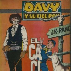 Tebeos: RIN-TIN-TIN / DAVY Y SU FIEL ROY Nº 286 - OLIVE Y HONTORIA 1966 - ORIGINAL - VER DESCRIPCION. Lote 106639955