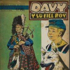 Tebeos: RIN-TIN-TIN / DAVY Y SU FIEL ROY Nº 287 - OLIVE Y HONTORIA 1967 - ORIGINAL - VER DESCRIPCION. Lote 106640019