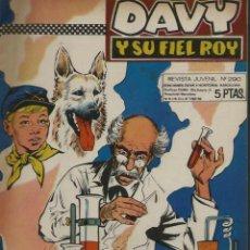 Tebeos: RIN-TIN-TIN / DAVY Y SU FIEL ROY Nº 290 - OLIVE Y HONTORIA 1967 - ORIGINAL - VER DESCRIPCION. Lote 106640099