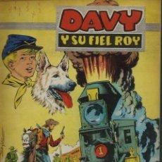 Tebeos: RIN-TIN-TIN / DAVY Y SU FIEL ROY Nº 292 - OLIVE Y HONTORIA 1967 - ORIGINAL - VER DESCRIPCION. Lote 106640159