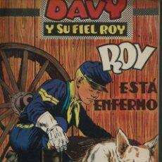 Tebeos: RIN-TIN-TIN / DAVY Y SU FIEL ROY Nº 315 - OLIVE Y HONTORIA 1967 - ORIGINAL, ULTIMOS Nº - VER DESCRIP. Lote 106640439