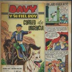 Tebeos: RIN-TIN-TIN / DAVY Y SU FIEL ROY Nº 341 - OLIVE Y HONTORIA 1968 - ORIGINAL, ULTIMOS Nº - VER DESCRIP. Lote 106640587
