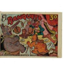 Tebeos: COLECCIÓN ACROBÁTICA INFANTIL -EL BANQUETE- ORIGINAL. AÑO 1942.DE 30 CTS - MUY BUENO -. Lote 106658419