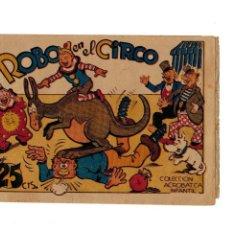 Tebeos: COLECCIÓN ACROBÁTICA INFANTIL - ROBO EN EL CIRCO- ORIGINAL. AÑO 1942.DE 25 CTS - MUY BUENO -. Lote 106659959