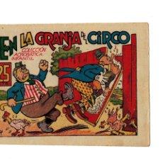 Tebeos: COLECCIÓN ACROBÁTICA INFANTIL -EN LA GRANJA DEL CIRCO- ORIGINAL. AÑO 1942.DE 25 CTS - MUY BUENO -. Lote 106660091