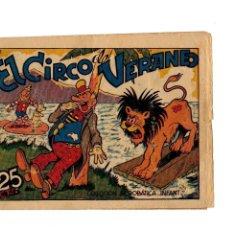 Tebeos: COLECCIÓN ACROBÁTICA INFANTIL -EL CIRCO DE VERANEO- ORIGINAL. AÑO 1942.DE 25 CTS . Lote 106660327