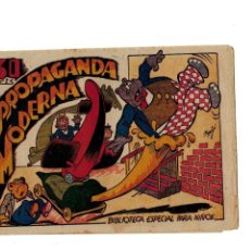 Tebeos: BIBLIOTECA ESPECIAL PARA NIÑOS -PROPAGANDA MODERNA- ORIGINAL.1942. . Lote 107240375