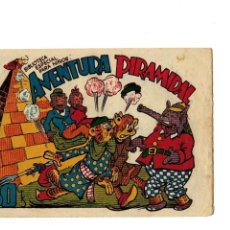 Tebeos: BIBLIOTECA ESPECIAL PARA NIÑOS -AVENTURA PIRAMIDAL- ORIGINAL.1942. . Lote 107277387