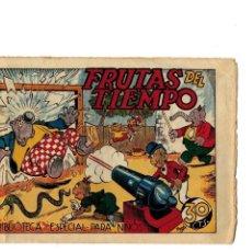 Tebeos: BIBLIOTECA ESPECIAL PARA NIÑOS -FRUTAS DEL TIEMPO- ORIGINAL.1942. . Lote 107280723