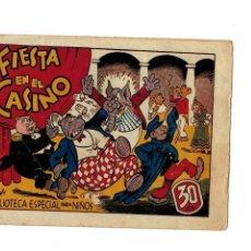 Tebeos: BIBLIOTECA ESPECIAL PARA NIÑOS -FIESTA EN EL CASINO- ORIGINAL.1942. . Lote 107280839