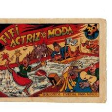 Tebeos: BIBLIOTECA ESPECIAL PARA NIÑOS -FIFÍ ACTRIZ DE MODA- ORIGINAL.1942. MUY BUENO. Lote 107280971