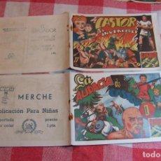Tebeos: MARCO, CASTOR EL INVENCIBLE DEL Nº 1 AL 22. Lote 107491399