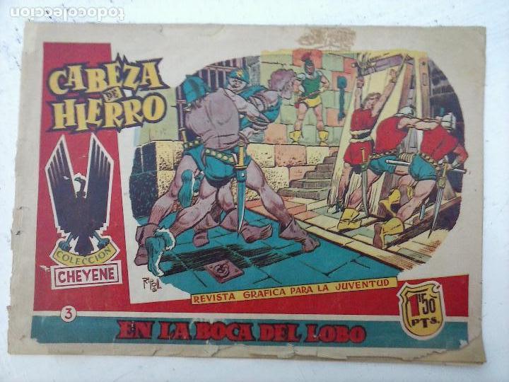 CABEZA DE HIERRO ORIGINAL Nº 3 - 1959 EDI. MARCO - RIPOLL G (Tebeos y Comics - Marco - Otros)