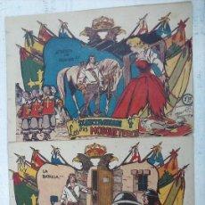 Tebeos: D'ARTAGNAN Y LOS TRES MOSQUETEROS ORIGINALES NºS 4 Y 5 - EDI. FERMA. Lote 108279555