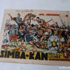 Tebeos: SIMBA-KAN Nº 28 ORIGINAL. Lote 108381263