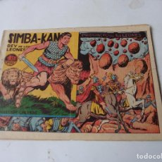 Tebeos: SIMBA-KAN Nº 34 ORIGINAL. Lote 108381523