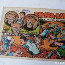 Tebeos: SIMBA-KAN Nº 37 ORIGINAL. Lote 108381651