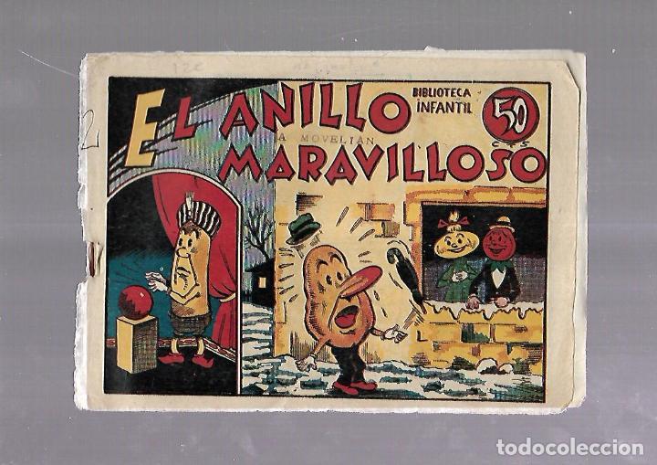 TEBEO. RABANITO Y CEBOLLITA. EL ANILLO MARAVILLOSO. BIBLIOTECA INFANTIL. EDITORIAL MARCO (Tebeos y Comics - Marco - Otros)