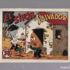 Tebeos: TEBEO. RABANITO Y CEBOLLITA. EL SIFON SALVADOR. BIBLIOTECA INFANTIL. EDITORIAL MARCO. Lote 159803002
