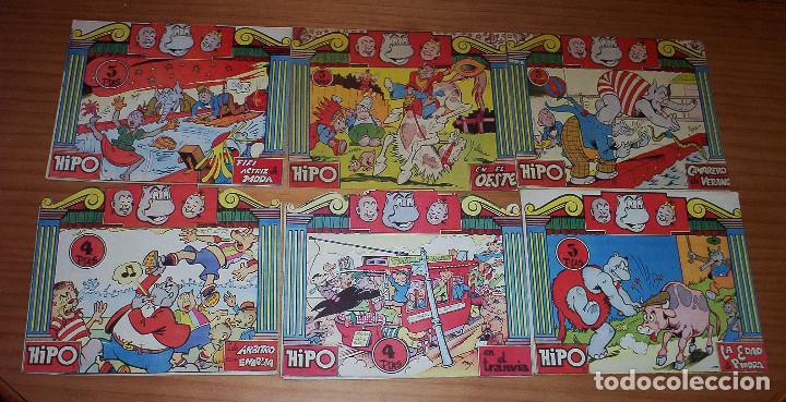 HIPO - COLECCION COMPLETA - 6 EJEMPLARES - MUY BUEN ESTADO (Tebeos y Comics - Marco - Hipo (Biblioteca especial))