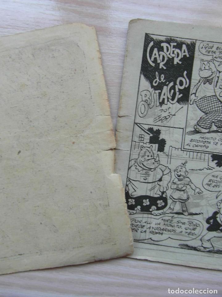 Tebeos: Hipo, monito y Fifi. Carrera de obstaculos. Biblioteca especial para niños. Editorial Marco. 1942 - Foto 2 - 109161371