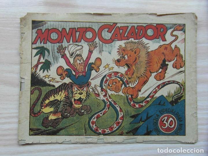 MONITO CAZADOR. BIBLIOTECA ESPECIAL PARA NIÑOS. EDITORIAL MARCO. 1942 (Tebeos y Comics - Marco - Hipo (Biblioteca especial))