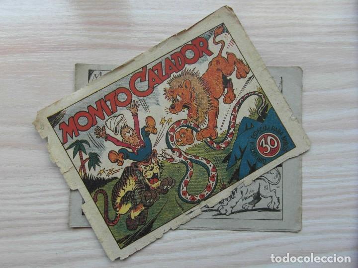 Tebeos: Monito cazador. Biblioteca especial para niños. Editorial Marco. 1942 - Foto 2 - 109161823