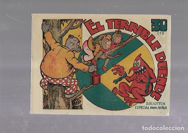 TEBEO. EL TERRIBLE DUENDE. BIBLIOTECA ESPECIAL PARA NIÑOS. EDITORIAL MARCO (Tebeos y Comics - Marco - Otros)