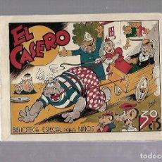 Tebeos: TEBEO. EL CASERO. BIBLIOTECA ESPECIAL PARA NIÑOS. EDITORIAL MARCO. Lote 109259127