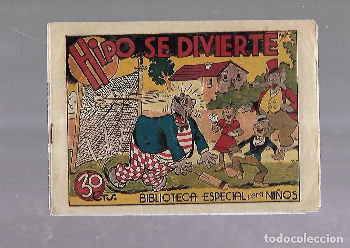 TEBEO. HIPO SE DIVIERTE. BIBLIOTECA ESPECIAL PARA NIÑOS. EDITORIAL MARCO (Tebeos y Comics - Marco - Otros)