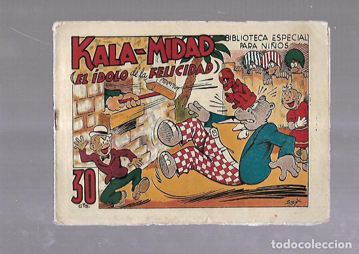 TEBEO. KALA-MIDAD (EL IDOLO DE LA FELICIDAD). BIBLIOTECA ESPECIAL PARA NIÑOS. EDITORIAL MARCO (Tebeos y Comics - Marco - Otros)