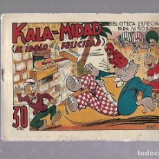 Tebeos: TEBEO. KALA-MIDAD (EL IDOLO DE LA FELICIDAD). BIBLIOTECA ESPECIAL PARA NIÑOS. EDITORIAL MARCO. Lote 109263447