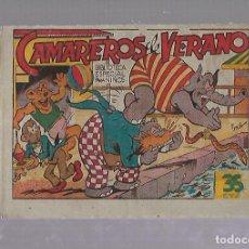 Tebeos: TEBEO. CAMAREROS DE VERANO. BIBLIOTECA ESPECIAL PARA NIÑOS. EDITORIAL MARCO. Lote 109263563
