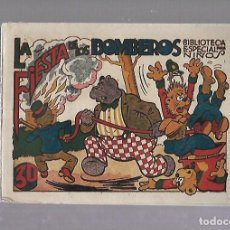 Tebeos: TEBEO. LA FIESTA DE LOS BOMBEROS. BIBLIOTECA ESPECIAL PARA NIÑOS. EDITORIAL MARCO. Lote 109331619