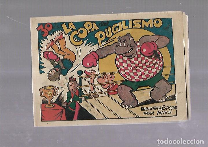 TEBEO. LA COPA DEL PUGILISMO. BIBLIOTECA ESPECIAL PARA NIÑOS. EDITORIAL MARCO (Tebeos y Comics - Marco - Otros)