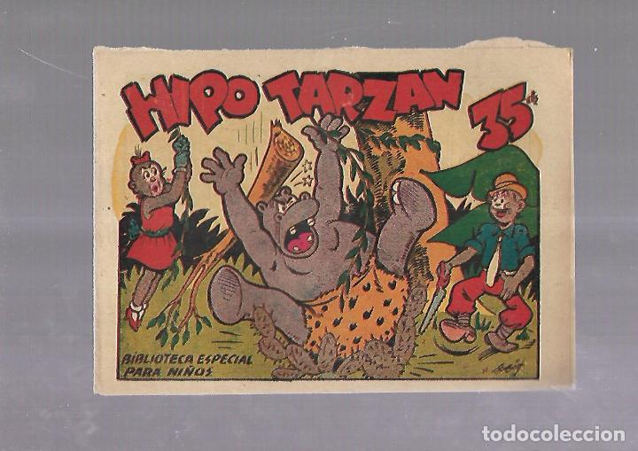 TEBEO. HIPO TARZAN. BIBLIOTECA ESPECIAL PARA NIÑOS. EDITORIAL MARCO (Tebeos y Comics - Marco - Otros)