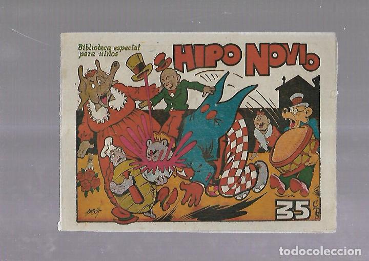 TEBEO. HIPO NOVIO. BIBLIOTECA ESPECIAL PARA NIÑOS. EDITORIAL MARCO (Tebeos y Comics - Marco - Otros)