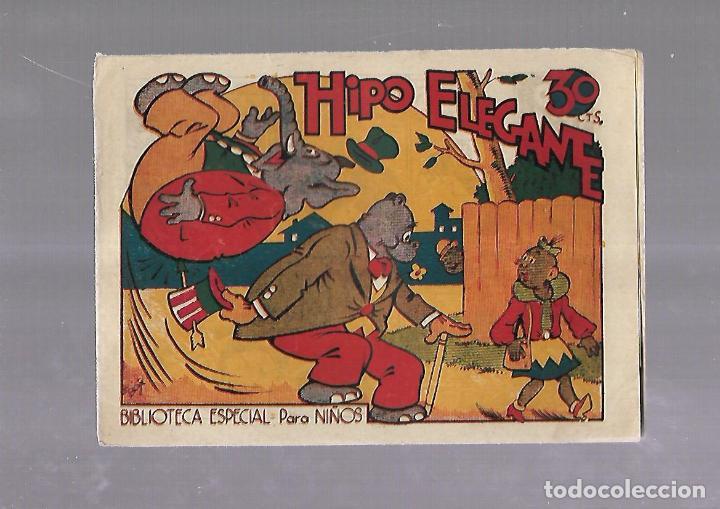 TEBEO. HIPO ELEGANTE. BIBLIOTECA ESPECIAL PARA NIÑOS. EDITORIAL MARCO (Tebeos y Comics - Marco - Otros)
