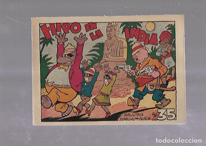 TEBEO. HIPO EN LA INDIA. BIBLIOTECA ESPECIAL PARA NIÑOS. EDITORIAL MARCO (Tebeos y Comics - Marco - Otros)