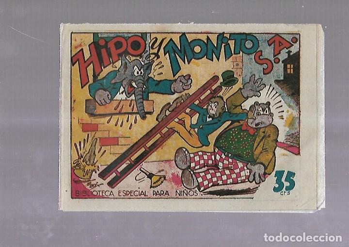 TEBEO. HIPO Y MONITO S.A. BIBLIOTECA ESPECIAL PARA NIÑOS. EDITORIAL MARCO (Tebeos y Comics - Marco - Otros)