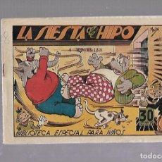 Tebeos: TEBEO. LA SIESTA DE HIPO. BIBLIOTECA ESPECIAL PARA NIÑOS. EDITORIAL MARCO. Lote 109332083