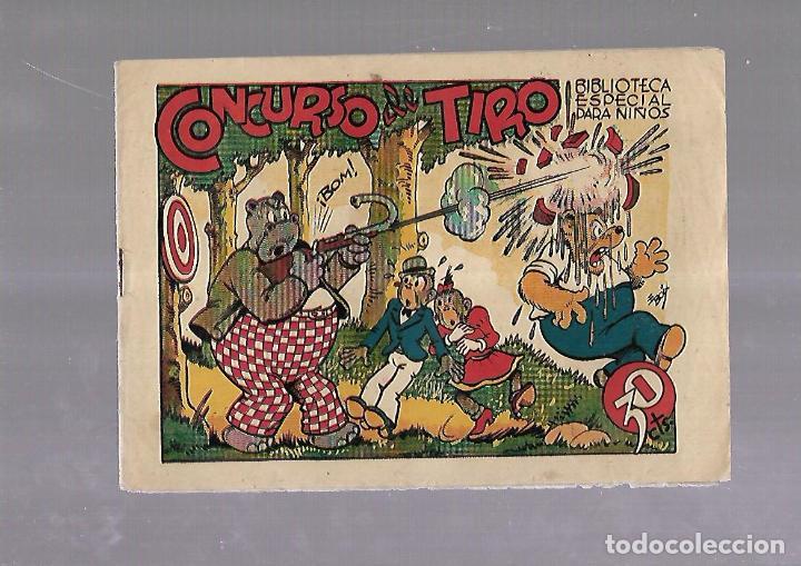 TEBEO. CONCURSO DE TIRO. BIBLIOTECA ESPECIAL PARA NIÑOS. EDITORIAL MARCO (Tebeos y Comics - Marco - Otros)