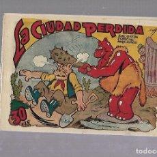 Tebeos: TEBEO. LA CIUDAD PERDIDA. BIBLIOTECA ESPECIAL PARA NIÑOS. EDITORIAL MARCO. Lote 109332267