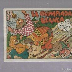 Tebeos: TEBEO. LA OLIMPIADA BLANCA. BIBLIOTECA ESPECIAL PARA NIÑOS. EDITORIAL MARCO. Lote 109332527